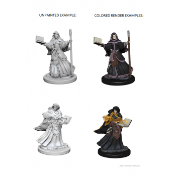 D&D Nolzur's Marvelous Miniatures - Human Female Wizard