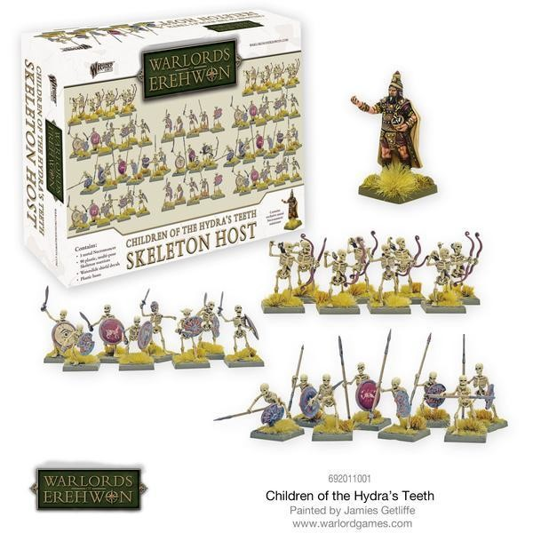 Children of the Hydra's Teeth - Skeleton Host - Warlord Games