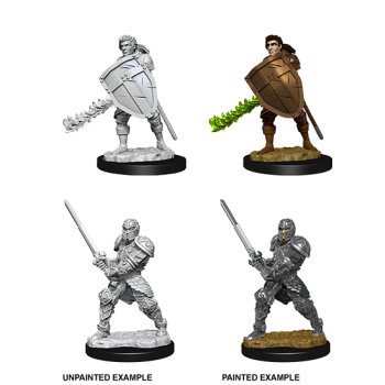 D&D Nolzur's Marvelous Miniatures - Male Human Fighter