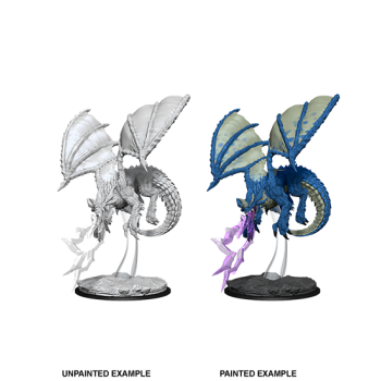 D&D Nolzur's Marvelous Miniatures - Young Blue Dragon