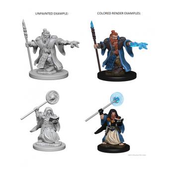 D&D Nolzur's Marvelous Miniatures - Dwarf Male Wizard