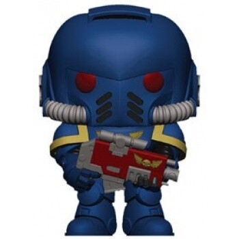 Funko POP! Warhammer 40K - Ultramarines Intercessor Vinyl Figure 10cm