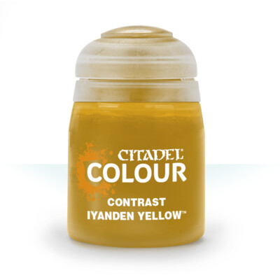 CONTRAST: IYANDEN YELLOW (18ML) - Citadel Contrast - Games Workshop