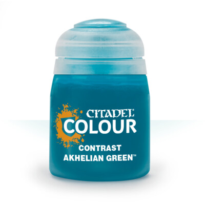 CONTRAST: AKHELIAN GREEN (18ML) - Citadel Contrast - Games Workshop