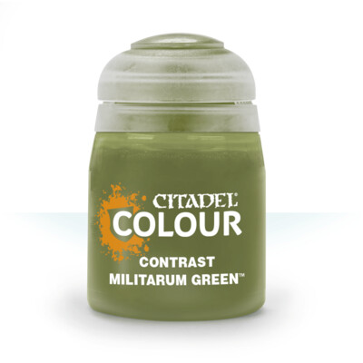 CONTRAST: MILITARUM GREEN (18ML) - Citadel Contrast - Games Workshop