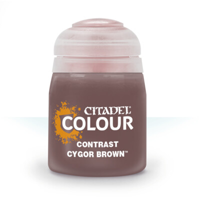 CONTRAST: CYGOR BROWN (18ML) - Citadel Contrast - Games Workshop