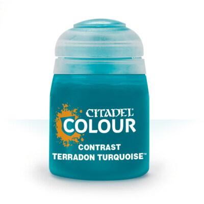 CONTRAST: TERRADON TURQUOISE (18ML) - Citadel Contrast - Games Workshop