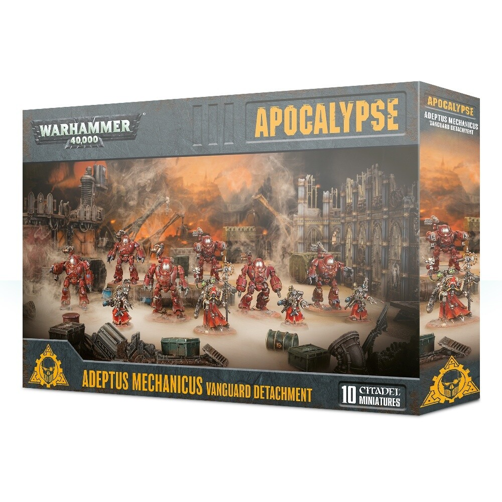 Vorhut des Adeptus Mechanicus Vanguard Detachment - Apocalypse - Warhammer - Games Workshop