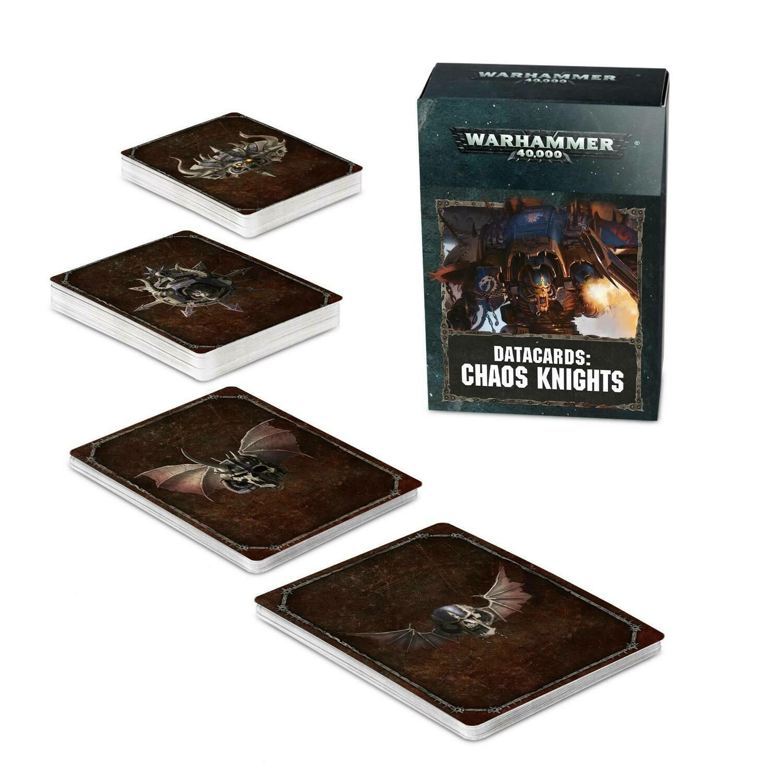 Datakarten der Chaos Knights (Deutsch) - Chaos Knights - Warhammer 40.000 - Games Workshop