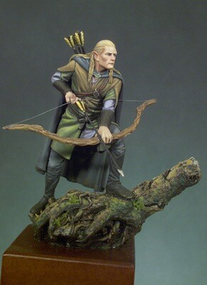 Elf Archer - 54mm - Andrea Miniatures