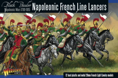 Napoleonic French Line Lancers - Black Powder - Warlord Games