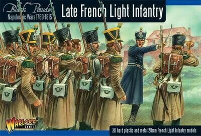 Late French Light Infantry - Black Powder - Warlord Games