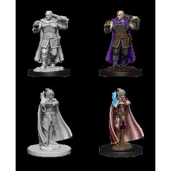 D&D Nolzur's Marvelous Miniatures - Human Ranger & Moon Elf Sorcerer