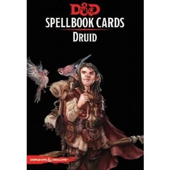 D&D Dungeons&Dragons Spellbook Cards - Druid (131 Cards) - EN