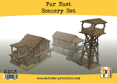 Far East Scenery Set - Sarissa