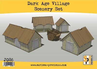 Dark Age Village Scenery Set - Sarissa