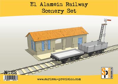 El Alamein Railways Station Set - Sarissa