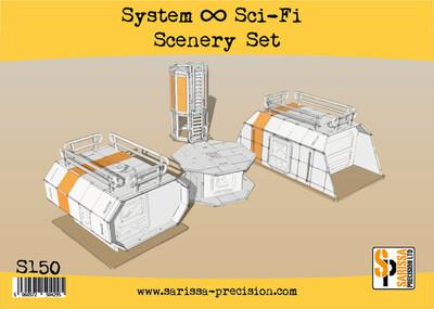 Sci-Fi Scenery Set - Sarissa