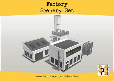 Factory Scenery Set - Sarissa