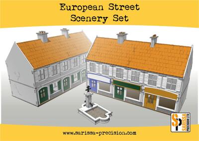 European Street Scenery Set - Sarissa