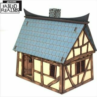 Mordanburg Backstreet Building 4 - Fabled Realms - 4Ground