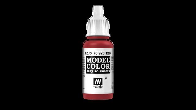 Red - Vallejo - Farben