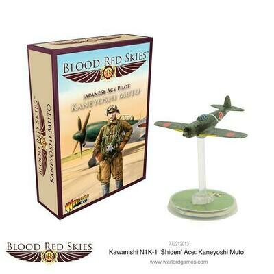 Kawanishi N1K-1 'Shiden' Ace: Kaneyoshi Muto - Blood Red Skies - Warlord Games