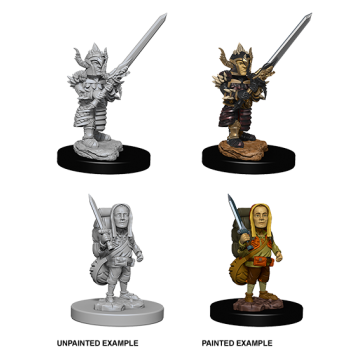 D&D Nolzur's Marvelous Miniatures: Male Halfling Fighter