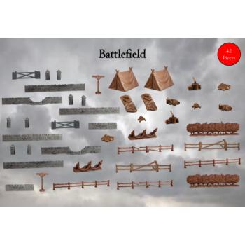 Terrain Crate: Battlefield - Mantic Games
