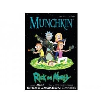 Munchkin: Rick and Morty - Kartenspiel - Pegasus Spiele