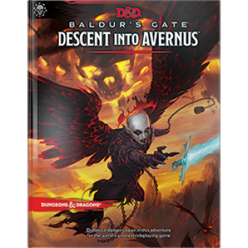 Dungeons&Dragons - D&D Baldur's Gate: Descent into Avernus Adventure Book - EN