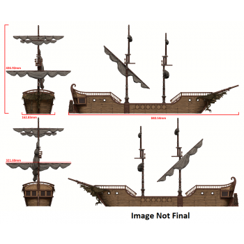 Dungeons and Dragons - Icons of the Realms: The Falling Star Sailing Ship - EN