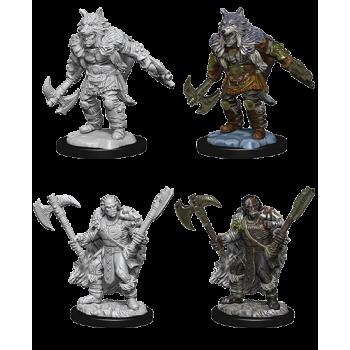 D&D Nolzur's Marvelous Miniatures - Male Half-Orc Barbariann