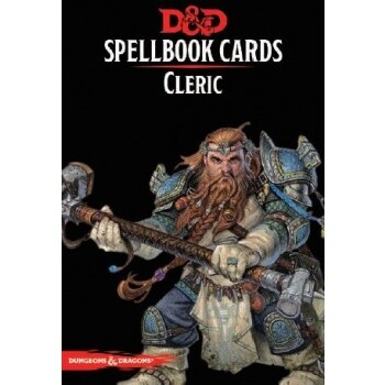 Dungeons&Dragons D&D Spellbook Cards - Cleric (153 Cards) - EN