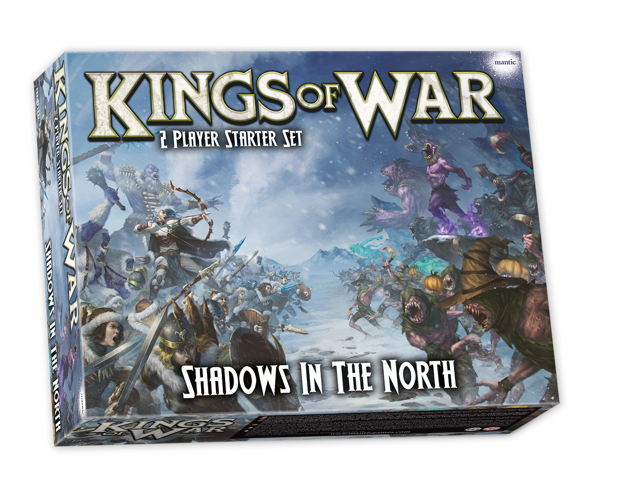Shadows in the North: Kings of War 2-Player Starter Set (EN) Third Edition - English