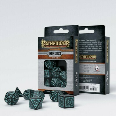 Pathfinder Würfel Set Iron Gods (7) - Q-Workshop