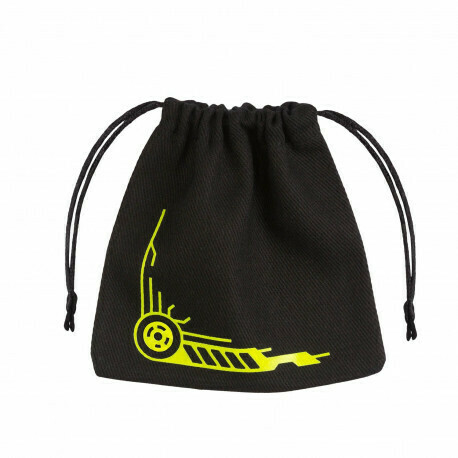 Galactic Black & yellow Dice Bag - Würfeltasche
