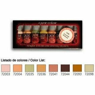 Skintones Hautfarben - Game Color - Vallejo