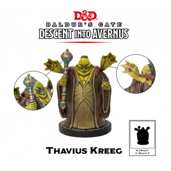 D&D Descent into Avernus - Thavius Kreeg - Dungeons and Dragons