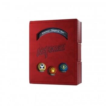 Gamegenic KeyForge Deck Book - Red