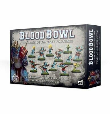 Gwaka'moli Crater Gators - Lizardmen Blood Bowl Team - Games Workshop