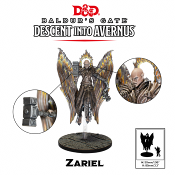 D&D Descent into Avernus - Zariel - Dungeons and Dragons