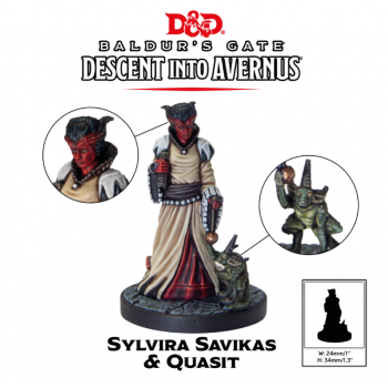D&D Descent into Avernus - Sylvira Savikas - Dungeons and Dragons
