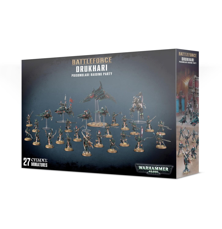 Battleforce: Drukhari Poisonblade Raiding Party - Warhammer 40.000 - Games Workshop