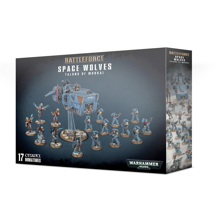Battleforce: Space Wolves Talons of Morkai - Warhammer 40.000 - Games Workshop