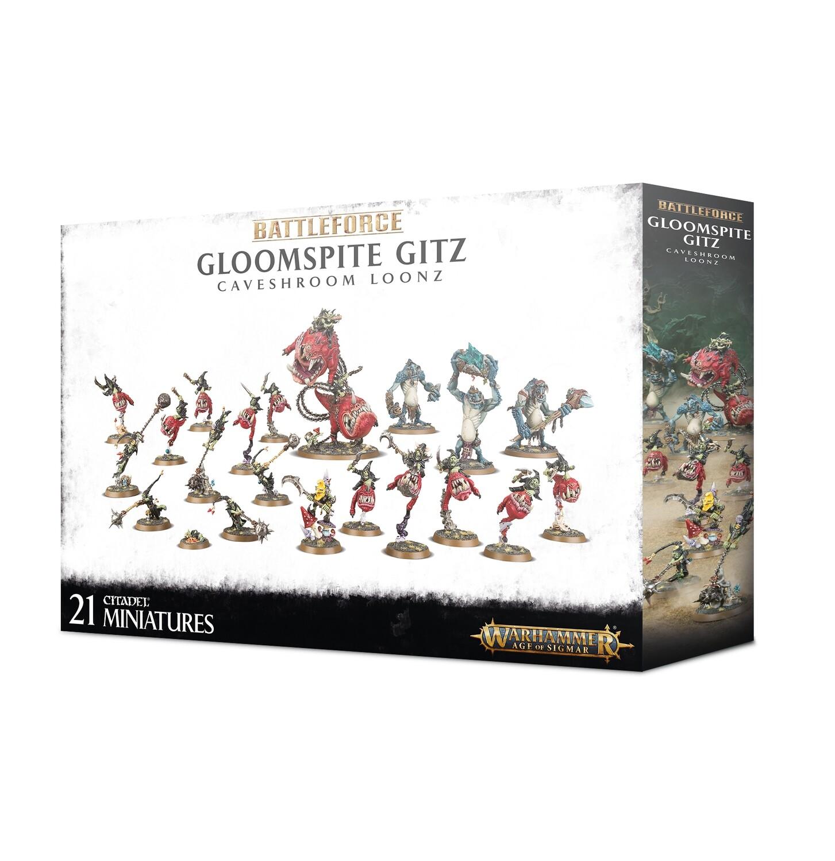 Battleforce: Gloomspite Gitz Caveshroom Loonz - Warhammer 40.000 - Games Workshop