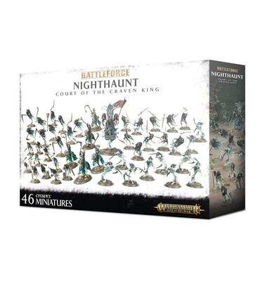 Battleforce: Nighthaunt Court of the Craven King - Warhammer 40.000 - Games Workshop