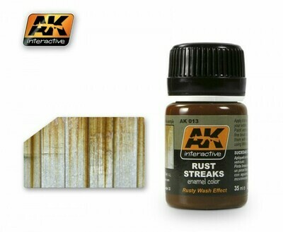 Rust Streaks (Emaille-Farbe) - AK Interactive
