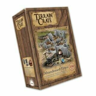 Abandoned Town - Terrain Crate - Mantic Games