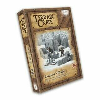 Ruined Village - Terrain Crate - Mantic Games